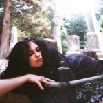 Even more goth-eek. The UVa graveyard. I think I have a leaf in my hair. :D